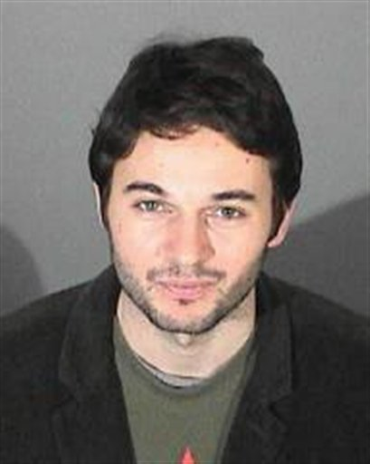This image provided by the Los Angeles County Sheriff's Department shows Matthew Rutler, 25, who was arrested on suspicion of driving under the influence and jailed on $5,000 bail early Tuesday March 1, 2011.