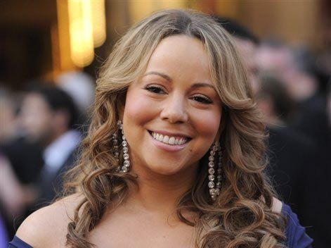 FILE - In this March 7, 2010 file photo, Mariah Carey arrives at the 82nd Academy Awards in the Hollywood section of Los Angeles.