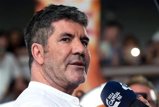 X Factor 2017 - Liverpool. Simon Cowell attending X Factor filming at the Titanic Hotel, Liverpool. Picture date: Tuesday June 20, 2017. Photo credit should read: Jon Super/PA Wire URN:31763803 (Press Association via AP Images)