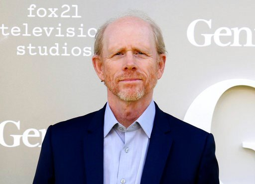 "In this April 24, 2017 file photo, filmmaker Ron Howard arrives at the premiere of ""Genius"", in Los Angeles."
