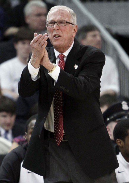 San Diego State men's basketball coach Steve Fisher