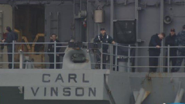 More than 5,000 Sailors from Carl Vinson return home to San Diego