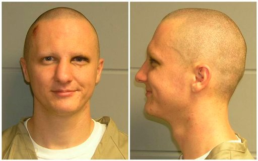 FILE - This combination of file photos released Tuesday, Feb. 22, 2011, by the U.S. Marshal's Service shows Jared Loughner.