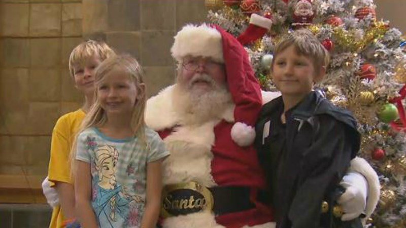Military families celebrate Christmas in June