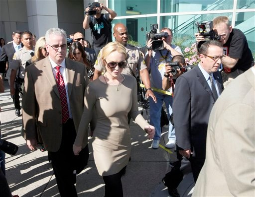 Lindsay Lohan leaves Los Angeles Superior Court, Thursday, March 10, 2011. Lohan has rejected a plea agreement offered by prosecutors that included a guaranteed return to jail.