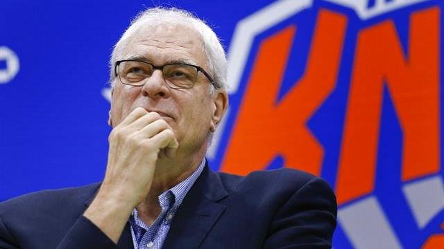 Former New York Knicks president Phil Jackson.
