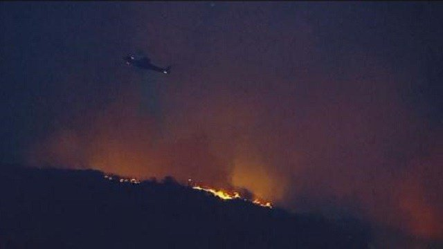 SAN CLEMENTE: Camp Pendleton fire at 10 percent containment