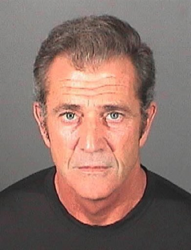 This booking photo released on Thursday, March 17, 2011 by the El Segundo, Calif. Police Department shows actor Mel Gibson. Authorities said Gibson was booked and released on a misdemeanor battery charge.