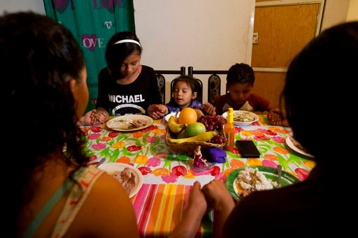 The rise in refugee resettlement in Mexico has paralleled a decrease in immigration to the United States, with apprehensions by U.S. Border Patrol down sharply at the frontier, especially of unaccompanied children and families. (AP Photo/Rebecca Blackwell