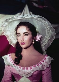 FILE - In this 1957 file photo, actress Elizabeth Taylor is shown in costume for her character in the film 'Raintree County.' Publicist Sally Morrison says the actress died Wednesday, March 23, 2011.