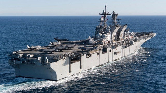 USS America (LHA-6), the fourth American warship to be named for the United States of America.