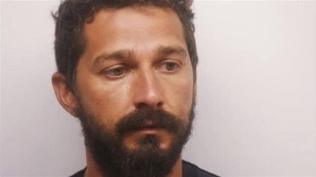 In this Saturday, July 8, 2017 photo released by the Chatham County Sheriff's Office, actor Shia LaBeouf poses for a booking photo, in Savannah, Ga. LaBeouf has been released from a Georgia jail after posting $7,000 bond on charges of public drunkenness.
