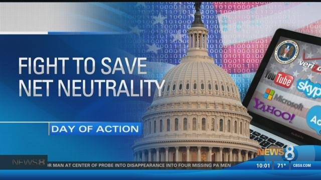 Tech community rallies on net neutrality day of action