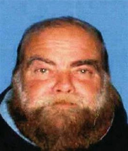 This photo provided by the Santa Monica Police Department shows Ron Hirsch, 60, a transient, who has been linked to an explosion April 7, 2011 near Chabad House Lubavitch of Santa Monica,Calif.