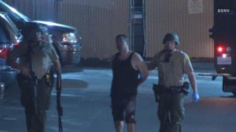 Armed suspect surrenders following standoff in La Mesa