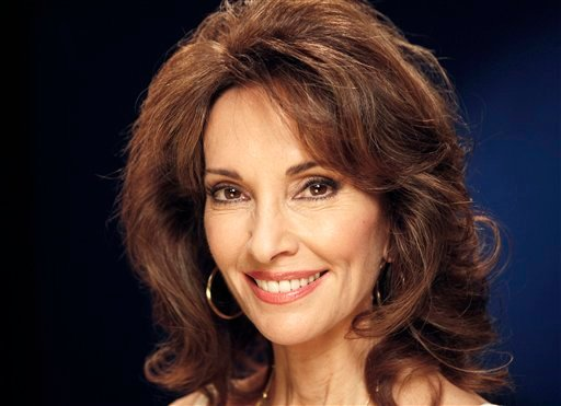 "FILE - In this March 28, 2011 file photo, actress Susan Lucci from ""All My Children,"" poses for a portrait in New York."