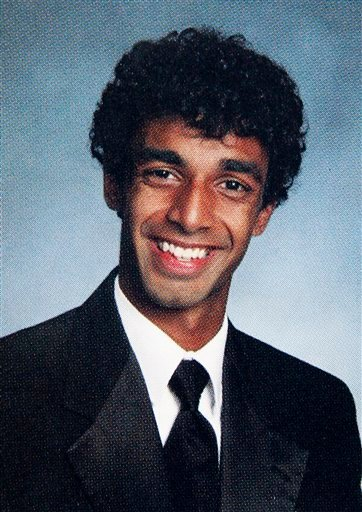 This West Windsor-Plainsboro High School North 2010 yearbook file photo shows high school senior Dharun Ravi.