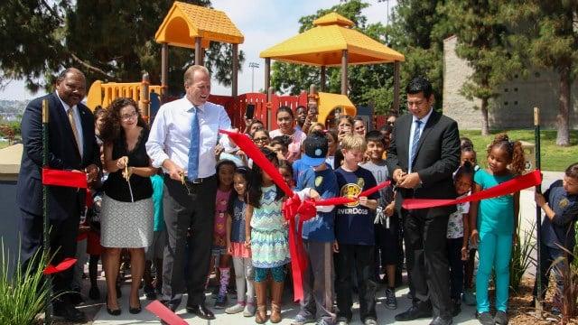 Photo courtesy of Mayor Faulconer's office