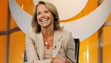 """In this July 16, 2006 file photo, Katie Couric, CBS News anchor and correspondent, answers questions about her upcoming season anchoring """"CBS Evening News with Katie Couric"""" during a news conference in Pasadena, Calif. (AP Photo/Lucas Jackson, File)"""