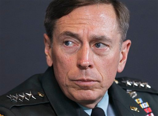FILE - In this March 18, 2011 file photo, Gen. David Petraeus is seen in Washington.
