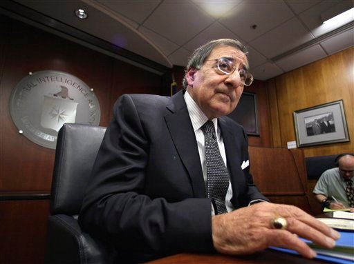 In this Feb. 25, 2009 file photo, CIA Director Leon Panetta speaks with reporters at CIA Headquarters in Langley, Va. (AP Photo/J. Scott Applewhite, file)
