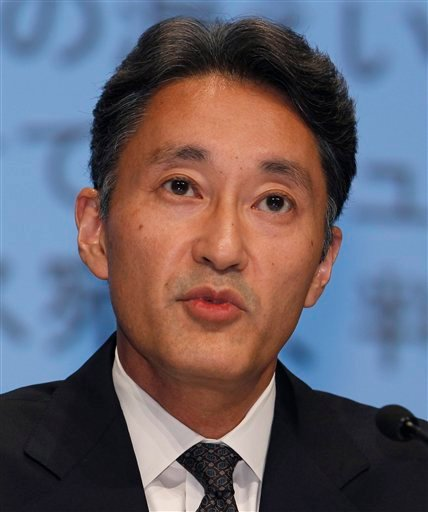 Sony Computer Entertainment President and CEO Kazuo Hirai speaks during a press conference at the Sony Corp. headquarters in Tokyo Sunday, May 1, 2011.