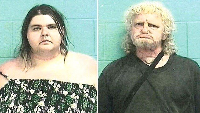 Elyria Police Department shows from left, Jamie Adkins and Brian Dekam.