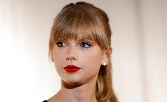 Taylor Swift appears at the Country Music Hall of Fame and Museum in Nashville, Tenn.