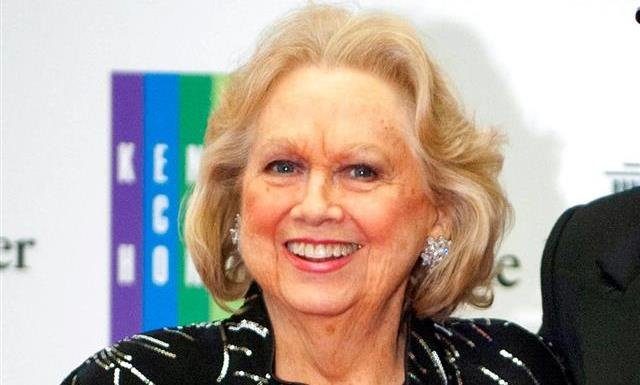 Barbara Cook arrives at the State Department for the Kennedy Center Honors gala dinner in Washington.