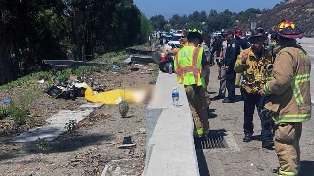 Another Double Fatal: This on I-15 Near Lake Hodges