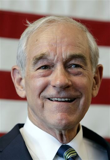 U.S. Rep. Ron Paul, R-Texas, speaks during a news conference at his newly opened Iowa campaign office, Tuesday, May 10, 2011, in Ankeny, Iowa.