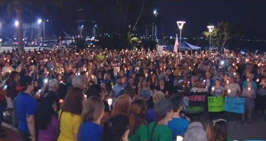 SLO vigil to honor the victims of violence in Charlottesville
