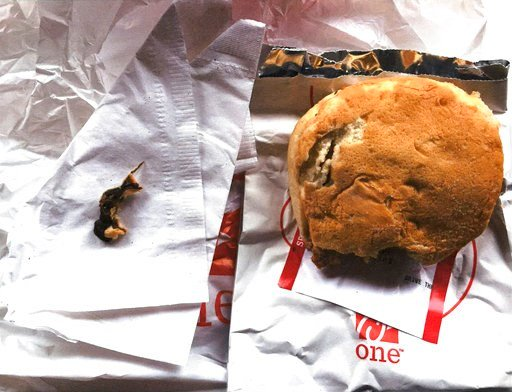 Woman says she found rodent in Chick-fil-A sandwich