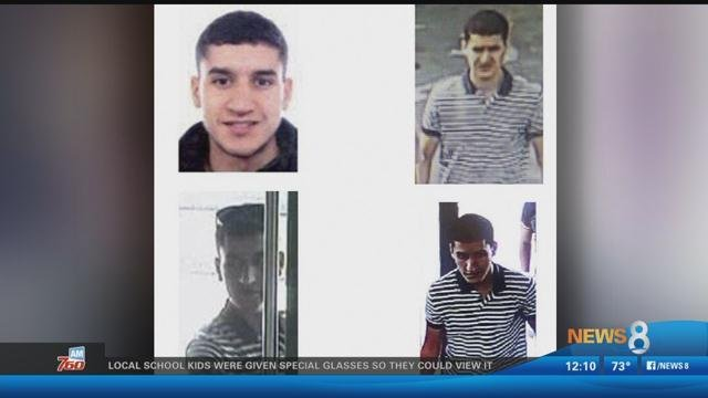 Moroccan suspect Younes Abouyaaqoub, 22, is the final target of a manhunt that has been ongoing since the attacks.