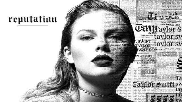 """This cover image released by Big Machine shows art for her upcoming album, """"reputation,"""" expected Nov. 10."""
