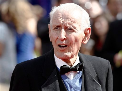 FILE - In this Aug. 29, 2010 file photo, Dr. Jack Kevorkian arrives at the 62nd Primetime Emmy Awards in Los Angeles. Kevorkian's lawyer and friend, Mayer Morganroth, says the assisted suicide advocate died Friday, June 3, 2011 at a Detroit-area hospital.