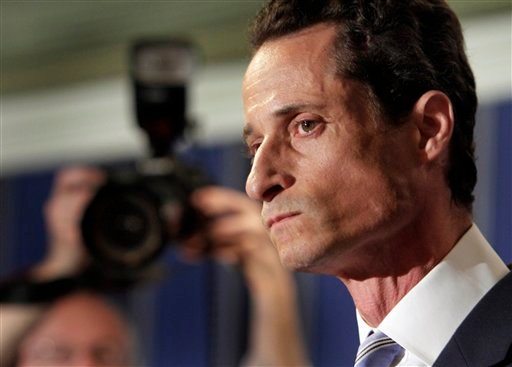 U.S. Rep. Anthony Weiner, D-N.Y., addresses a news conference in New York, Monday, June 6, 2011.