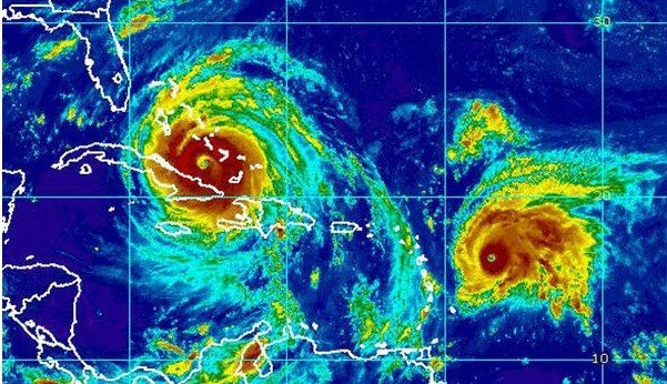 Jose strengthens to a Category 4 hurricane; tropical storm warnings in effect for already ravaged Caribbean islands.