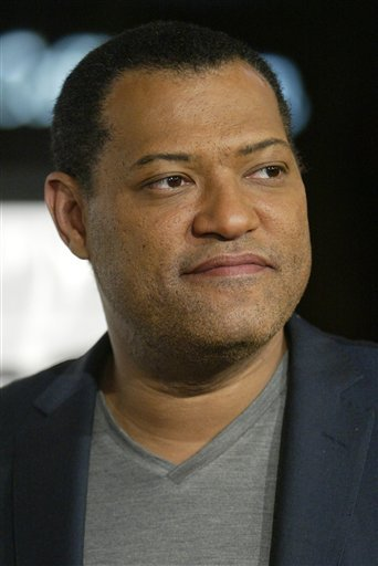 """Actor Lawrence Fishburne arrives for the premiere of the movie """"Bobby"""" during the opening night of AFI Fest 2006, in this Nov. 1, 2006 file photo taken in Los Angeles."""