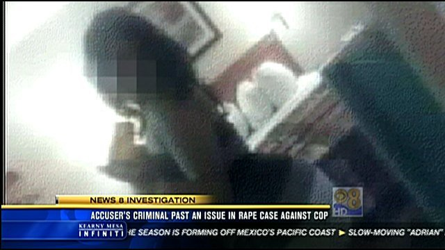 News 8 has learned the officer's accuser has a long criminal history, which could be a problem for the prosecution.