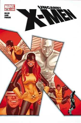 "This image provided by Marvel Entertainment shows the cover of Marvel Comics flagship series ""Uncanny X-Men"" October with issue No. 544."