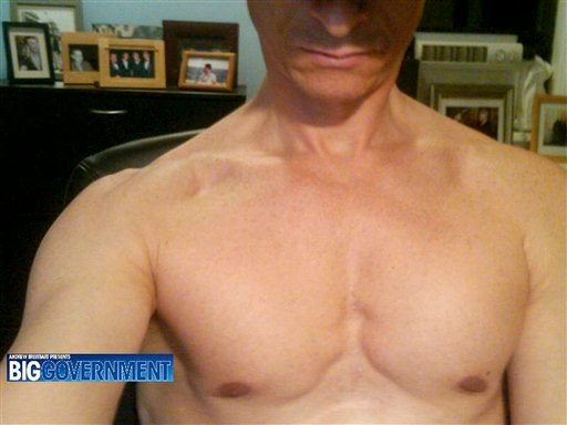 This undated photo taken from the website BigGovernment.com, run by conservative activist Andrew Breitbart, purports to show Rep. Anthony Weiner, D-N.Y., shirtless.