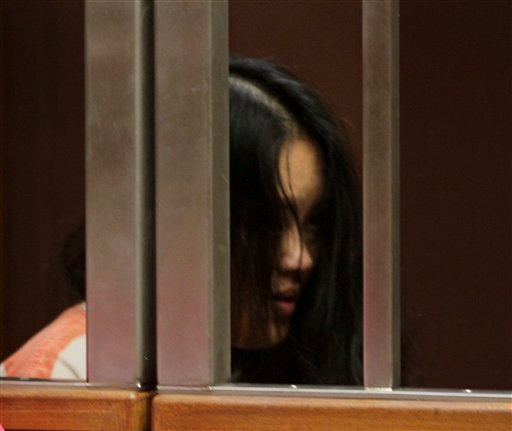 Ka Yang, during her arraignment for the alleged murder of her 7-week- old daughter, in Sacramento County Superior Court Sacramento, Calif., Thursday, June 23, 2011.