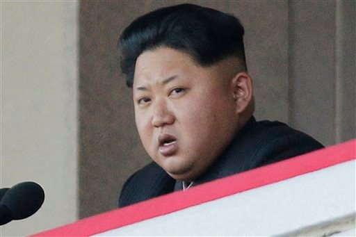 FILE - In this Oct. 10, 2015, file photo, North Korean leader Kim Jong Un delivers remarks at a military parade in Pyongyang, North Korea. (AP Photo/Wong Maye-E, File)