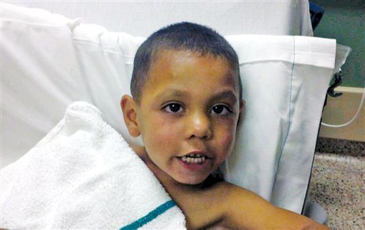 This undated photo provided by the Sweetwater (Texas) Police Department shows 4-year-old Angel Flores. Flores was found standing in the middle of Interstate 20 near Sweetwater early Tuesday, June 28, 2011.