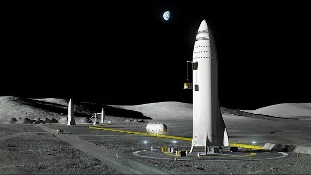 This artist's rendering made available by Elon Musk on Friday, Sept. 29, 2017.
