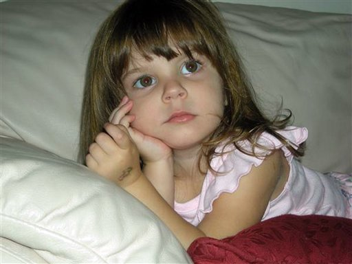 This undated file photo released by the Orange County Sheriff's Office in Orlando, Fla., shows Caylee Marie Anthony. (AP Photo/Orange County Sheriff's Office, File)