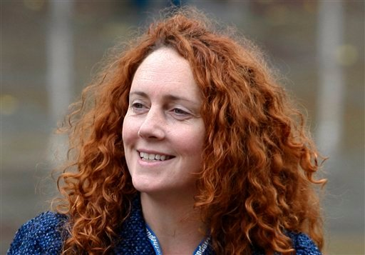 In this Oct. 6, 2009 file photo, Rebekah Brooks, chief executive of News International, which publishes the News of the World tabloid, arrives at the Conservative Party Conference in Manchester, England. (AP)
