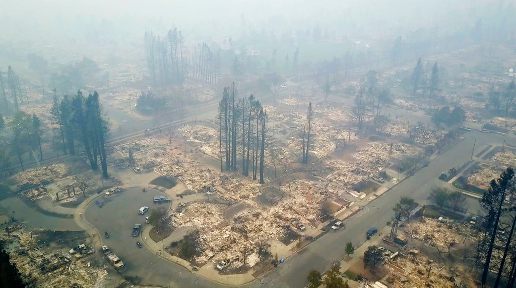 CA fire official: 3,500 homes and businesses have been destroyed in deadly wine country wildfires
