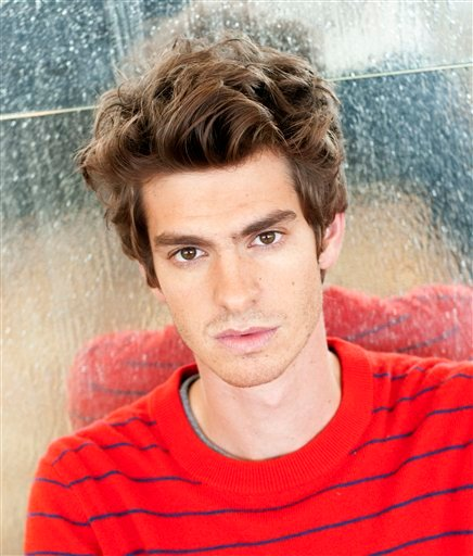"Actor Andrew Garfield poses for a portrait at Comic Con in San Diego, Calif. on Friday, July 22, 2011. Garfield stars in the feature film ""The Amazing Spider-Man"" set to be released in 2012. (AP Photo/Dan Steinberg)"